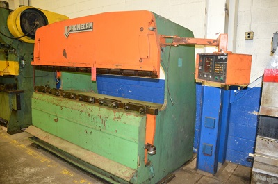 75 TON x 8' PROMECAM MODEL #RG-75-25 HYDRAULIC POWER PRESS BRAKE