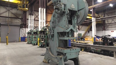 110 TON CLEARING OPEN BACK INCLINABLE PRESS