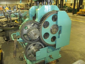 10 x 15-3/4 SCHMITZ MODEL #EA7-250/400 2-HI ROLLING MILL