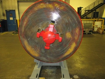 4000#, LITTELL MODEL #40-18 AUTOMATIC CENTERING REEL
