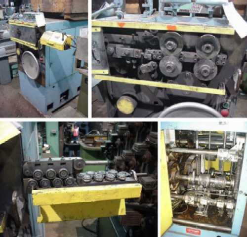 TORIN MODEL #W115-A WIRE SPRING COILING MACHINE