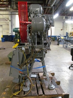 10 TON BLISS MODEL #18 OPEN BACK INCLINABLE DOUBLE ACTION PRESS