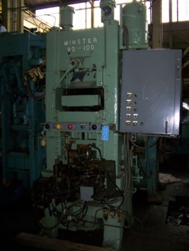 100 TON MINSTER MODEL #90-100 KNUCKLE JOINT PRESS