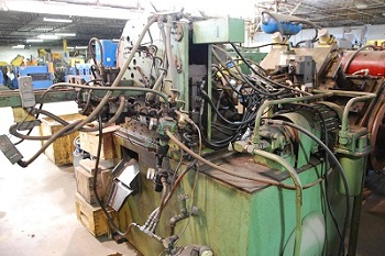 HAVEN #802 DOUBLE TUBE CUT-OFF MACHINE