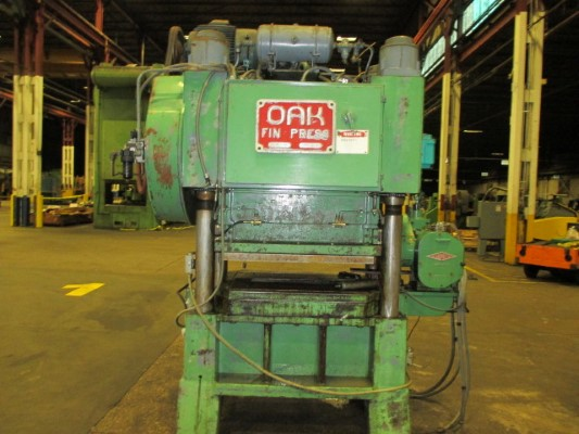 60 TON OAK MODEL #FP-2-42 HIGH SPEED FIN PRESS