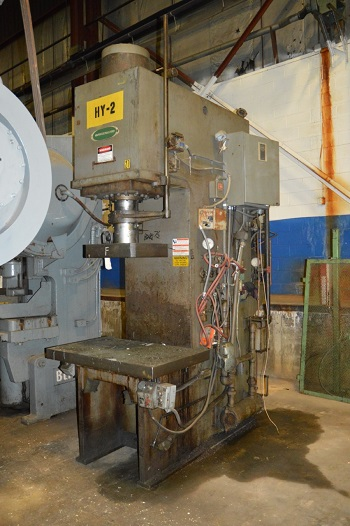 75 TON GREENERD MODEL #H-75-42R17 HYDRAULIC PRESS