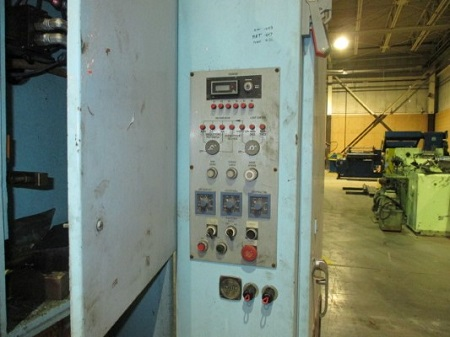 110 TON WATERBURY-FARREL MODEL #110-S HYDRAULIC PRESS, HIGH SPEED