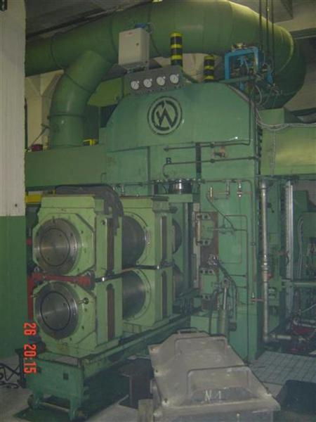 CARL WEZEL COMBINATION 2-HI/4-HI REVERSING COLD ROLLING MILL