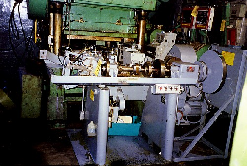 BAIRD MODEL #RW1, 4-SLIDE WIRE FORMING MACHINE