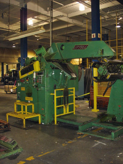 10,000# X 32 LITTELL No. 90-36 PRESS FEED LINE