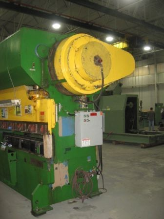 150 TON CHICAGO MODEL #1012-R PRESS BRAKE