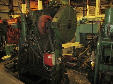 WATERBURY-FARREL MODEL #200-11 TRANSFER PRESS, CRANK EYELET