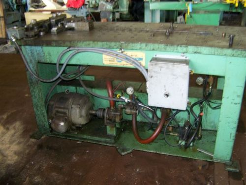 72 LUBOW HYDRAULIC BENDER