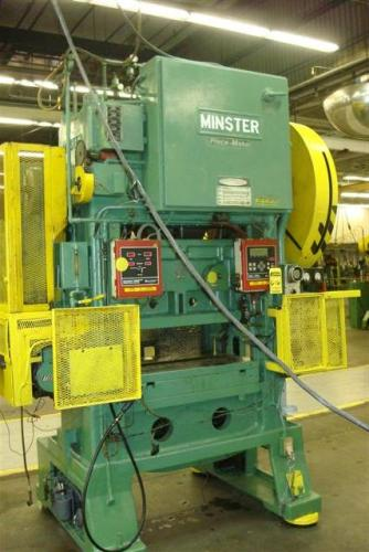 60 Ton, MINSTER P2-60-36 PIECE MAKER W/ POWER COIL HIGH SPEED PRESS