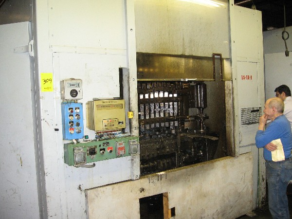 WATERBURY-FARREL MODEL #15-10, ICOP TRANSFER PRESS