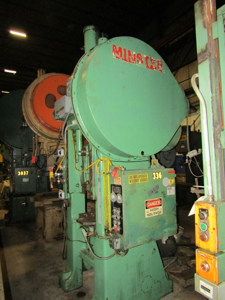 100 TON, MINSTER MODEL #S1-100 SSSC PRESS