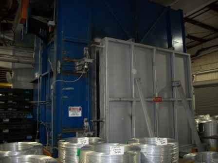 GASMAC CAR BOTTOM BATCH TYPE ANNEALING OVEN