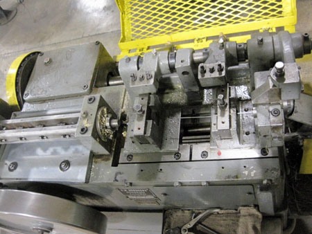 BUNDGENS MODEL #UDI/350, WIRE STRAIGHTENER & CUTOFF