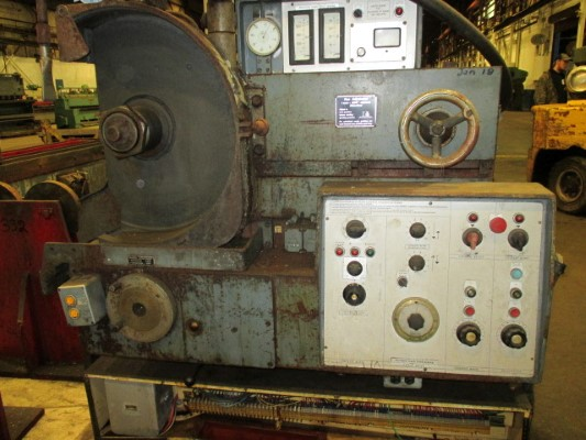 24 X 98.5 HERKULES MODEL #WS-300 ROLL GRINDER