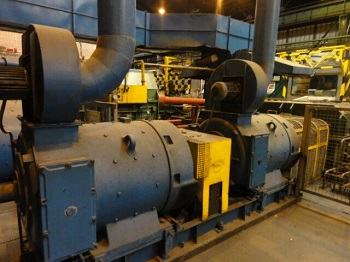 LOEWY ROBERTSON 4 HI, REVERSIBLE, COLD ROLLING MILL