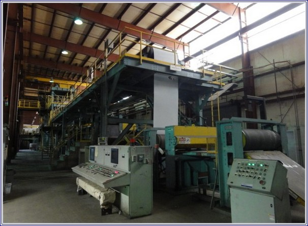 51.25 (1302mm) FATA HUNTER COIL COATING LINE, NEW 2002