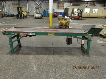 AUTOMATED CONVEYOR SYSTEMS 16 X 115 FLAT BELT TYPE
