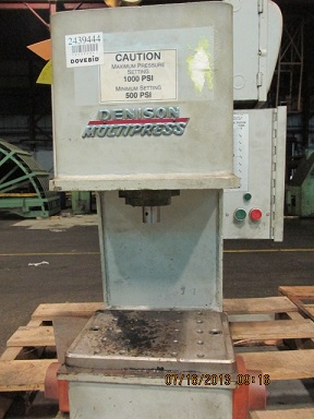 DENISON 1 TON, M#A HYDRAULIC MULTIPRESS
