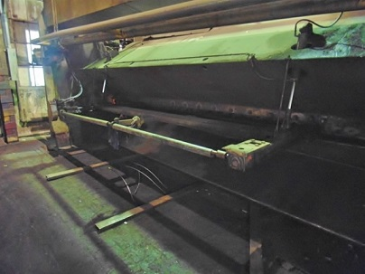 1/2 x 16' PACIFIC 500R-16 HYDRAULIC SHEAR