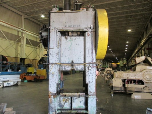 200 TON ERIE TRIM STRAIGHT SIDE SINGLE CRANK PRESS