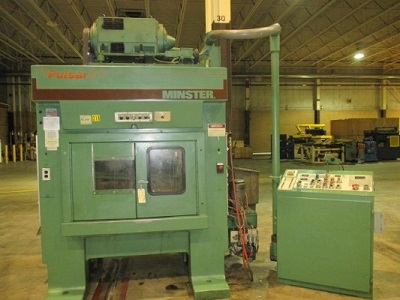 30 TON MINSTER Mdl# TR2-30 PULSAR STAMPING PRESS