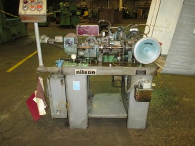 NILSON Mdl# 700L FOUR SLIDE WIRE FORMING MACHINE