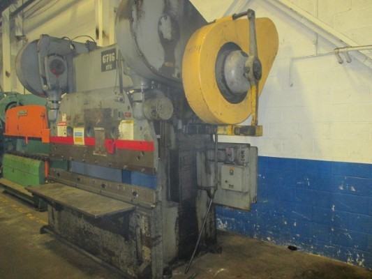 115 Ton, CINCINNATI 7 SERIES x 6' PRESS BRAKE
