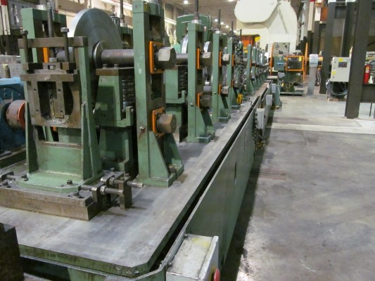 17 STAND SAMCO TRUSS ROLL FORM LINE, NEW 2005