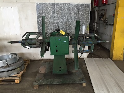4,000# AMERICAN STEEL LINE DOUBLE END UNCOILER