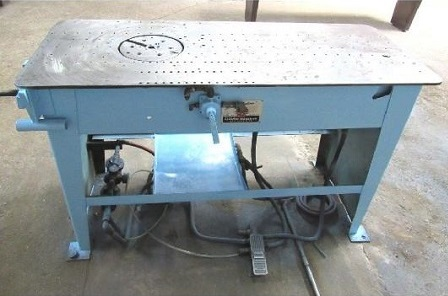 LUBOW Mdl# ML-10 SINGLE STOP TABLE BENDER