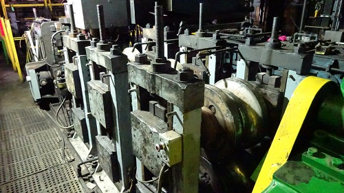 8 YODER/THERMATOOL API CAGE FORMING ERW TUBE MILL