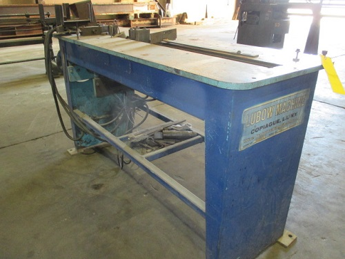LUBOW WBR-1 AIR WIRE BENDING PRESS