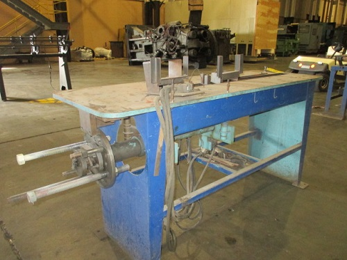 LUBOW #WBR-1 AIR WIRE BENDING PRESS