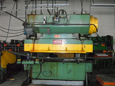 60 TON CHICAGO -DREIS & KRUMP- MECHANICAL PRESS BRAKE