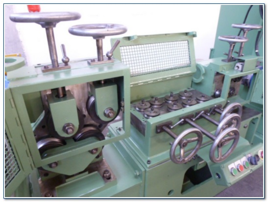 SCHUMAG No. KZ-RP 0B COMBINED DRAWING MACHINE