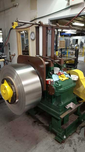 16 (406mm) COIL TO COIL HORIZONTAL BRIGHT ANNEAL FOR STAINLESS STRIP