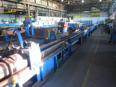 2000 TON WATSON STILLMAN Mdl# 3186-D COPPER & BRASS ROD EXTRUSION PRESS LINE