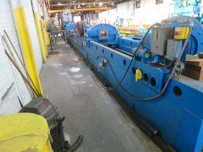 200 TON RD WOOD STRETCH STRAIGHTENER & DETWISTER