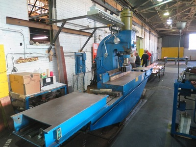 75 TON WATSON STILLMAN VERTICAL STRAIGHTENING PRESS