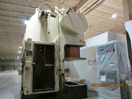 200 TON USI-CLEARING OBS-200-72-42 GAP FRAME PRESS
