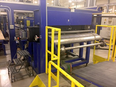 60 (1525MM) x .078 (2.0MM) x 30,000#(15 TON) DREHER CUT TO LENGTH LINE, NEW 2007
