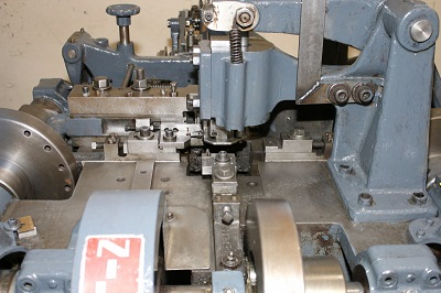 NILSON MODEL S-2 FOURSLIDE WIRE FORMING MACHINE