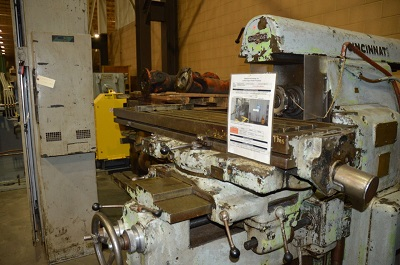 CINCINNATI MILAMICRON #3 UNIVERSAL HIGH SPEED MILLING MACHINE