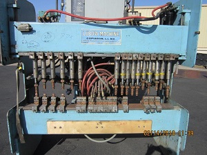 LUBOW WIRE WELDER MODEL# VGW25 WIRE BENDER