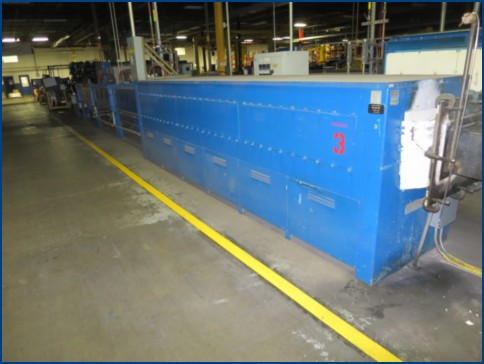 12 C.I. HAYES COPPER AND BRASS STRIP ANNEALING LINE